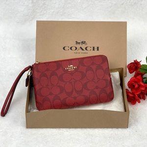 Coach Double Zip Wallet